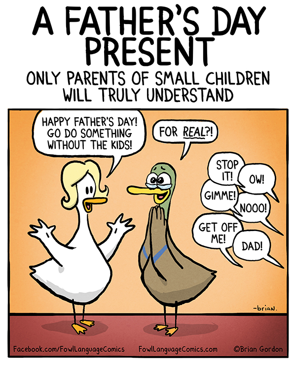 Father S Day Present Fowl Language Comics